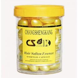"""Витамины в капсулах от выпадения волос (желтые) """"Сhangshengkang"""", 60 шт."""